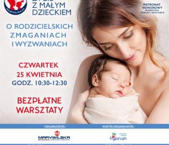 Drugi bezpłatny warsztat Fajny czas Mamy dla mam z dziećmi