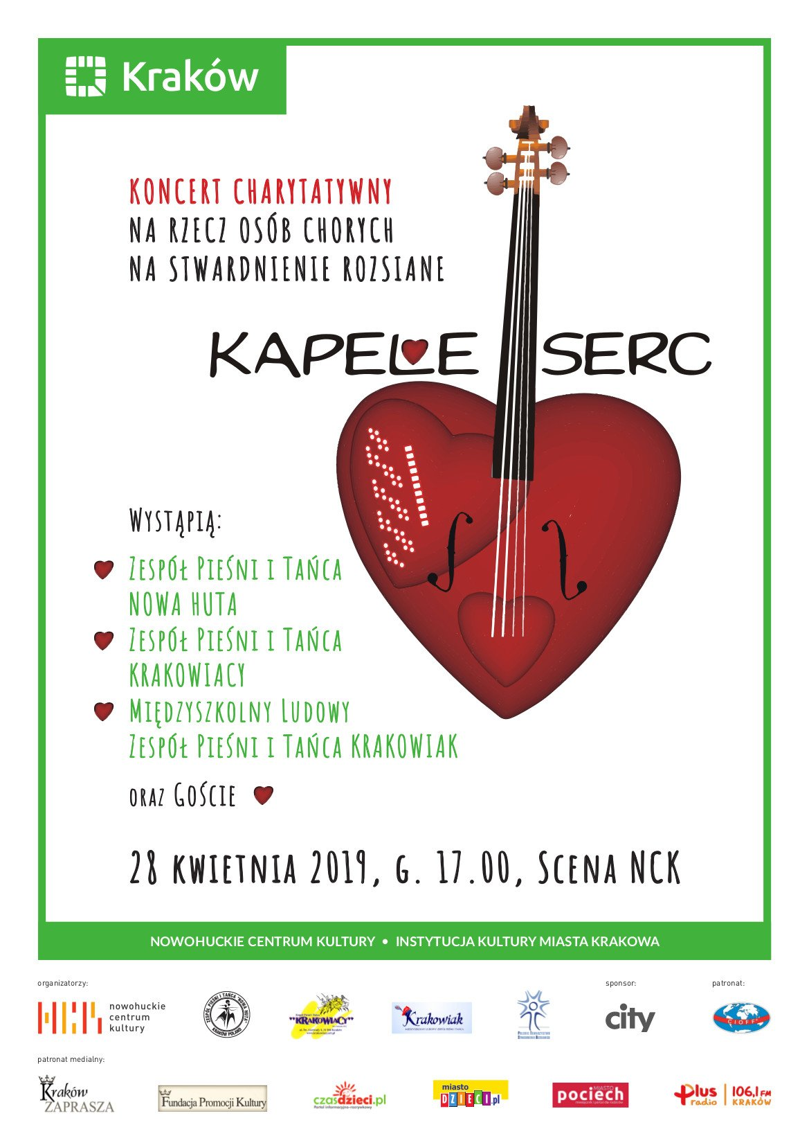 Koncert charytatywny Kapele Serc