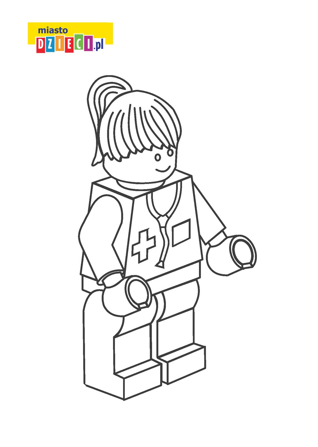 Kolorowanka Lego Darmowa Kolorowanka Do Druku