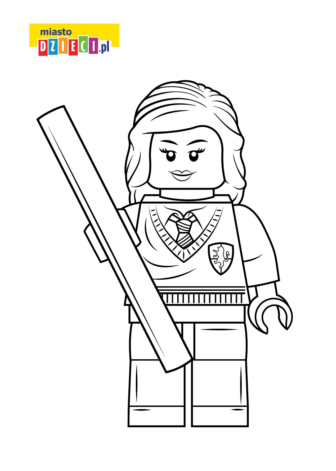 Kolorowanka Lego Studentka Darmowa Kolorowanka Do Druku