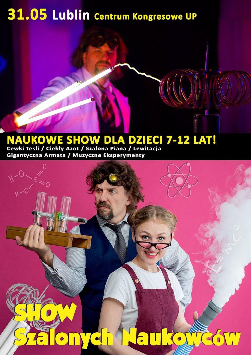 Show Szalonych Naukowców w Lublinie