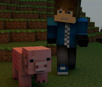 MinecraftPi – zakoduj kwadratowy świat z robotowem