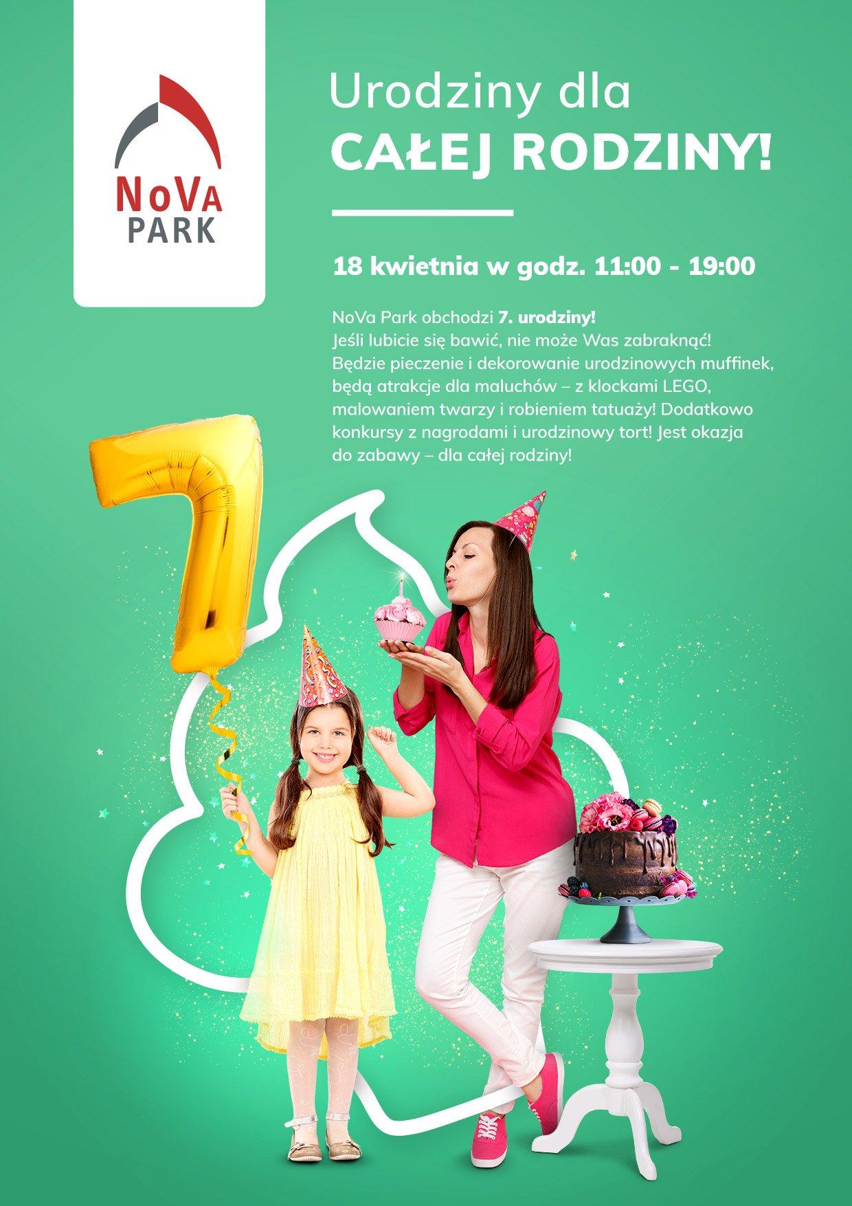 Świętuj z nami 7. urodziny NoVa Park
