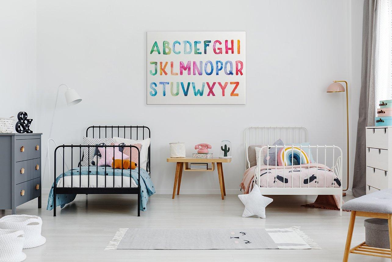 obraz dzieciecy alfabet