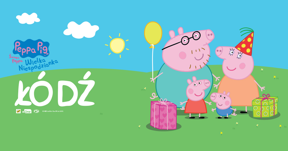 Spektakl Świnka Peppa - Wielka Niespodzianka na Dzień Dziecka!