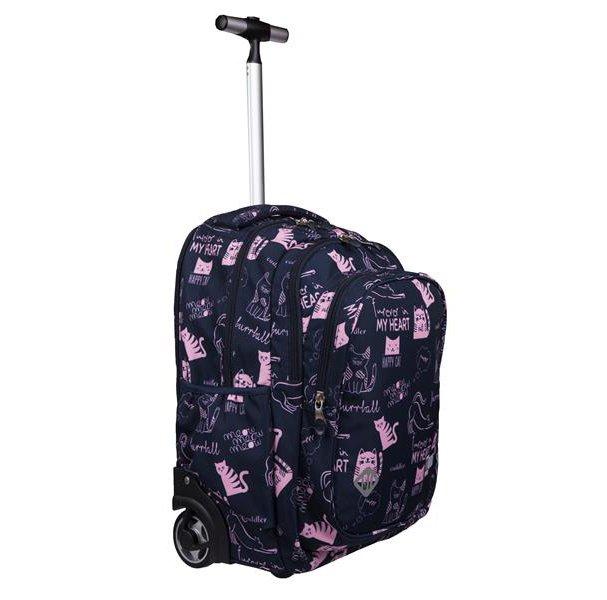 plecak na kółkach dla dziewczynki