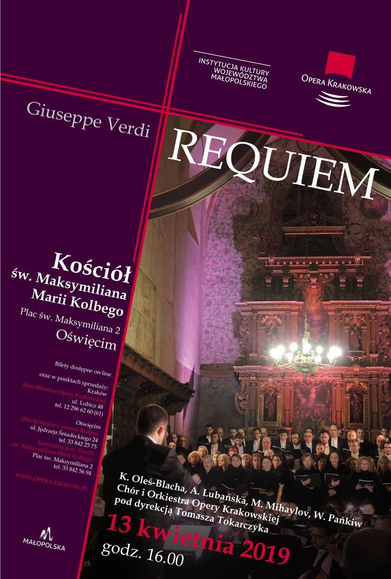 Requiem Giuseppe Verdiego w Oświęcimiu i Krakowie