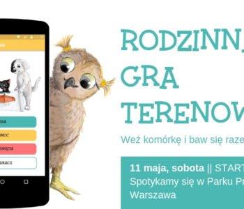 Tup Tup po Warszawie - Rodzinna Gra Terenowa