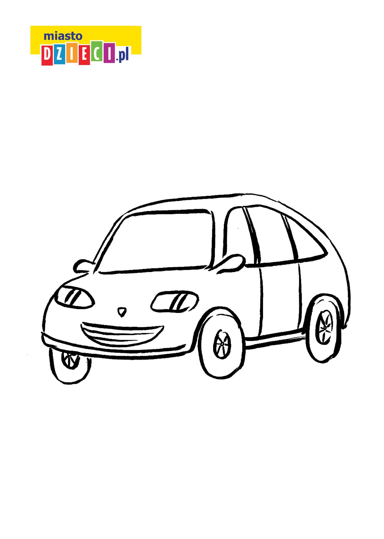 Kolorowanka Samochod Kolorowanka Dla Dzieci Do Druku