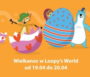 Wielkanoc dla dzieci w Loopys World