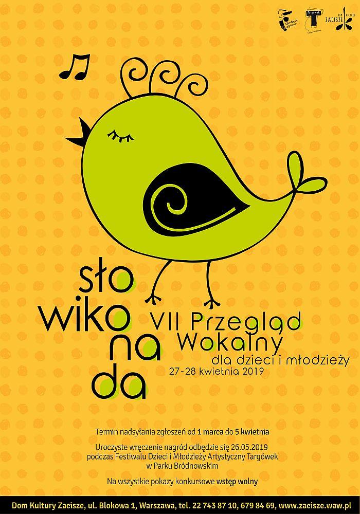 VII Przegląd Wokalny dla Dzieci i Młodzieży Słowikonada