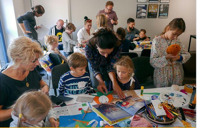 Warsztaty dla rodziców i dla dzieci - Poranki w muzeum