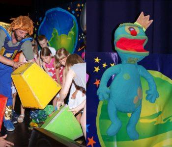 Teatr Pomarańczowy Cylinder: Profesorek Wodorek w kosmosie