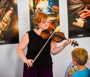 Zapisy na lekcje gry na skrzypcach