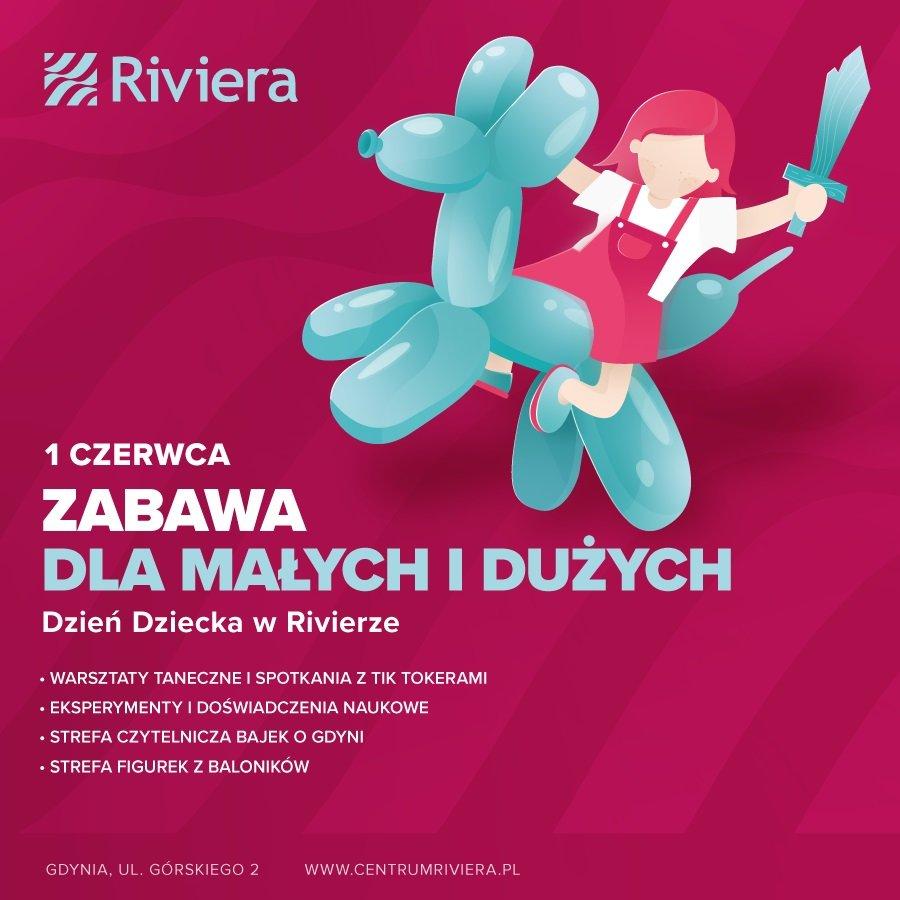 Dzień Dziecka w Centrum Riviera
