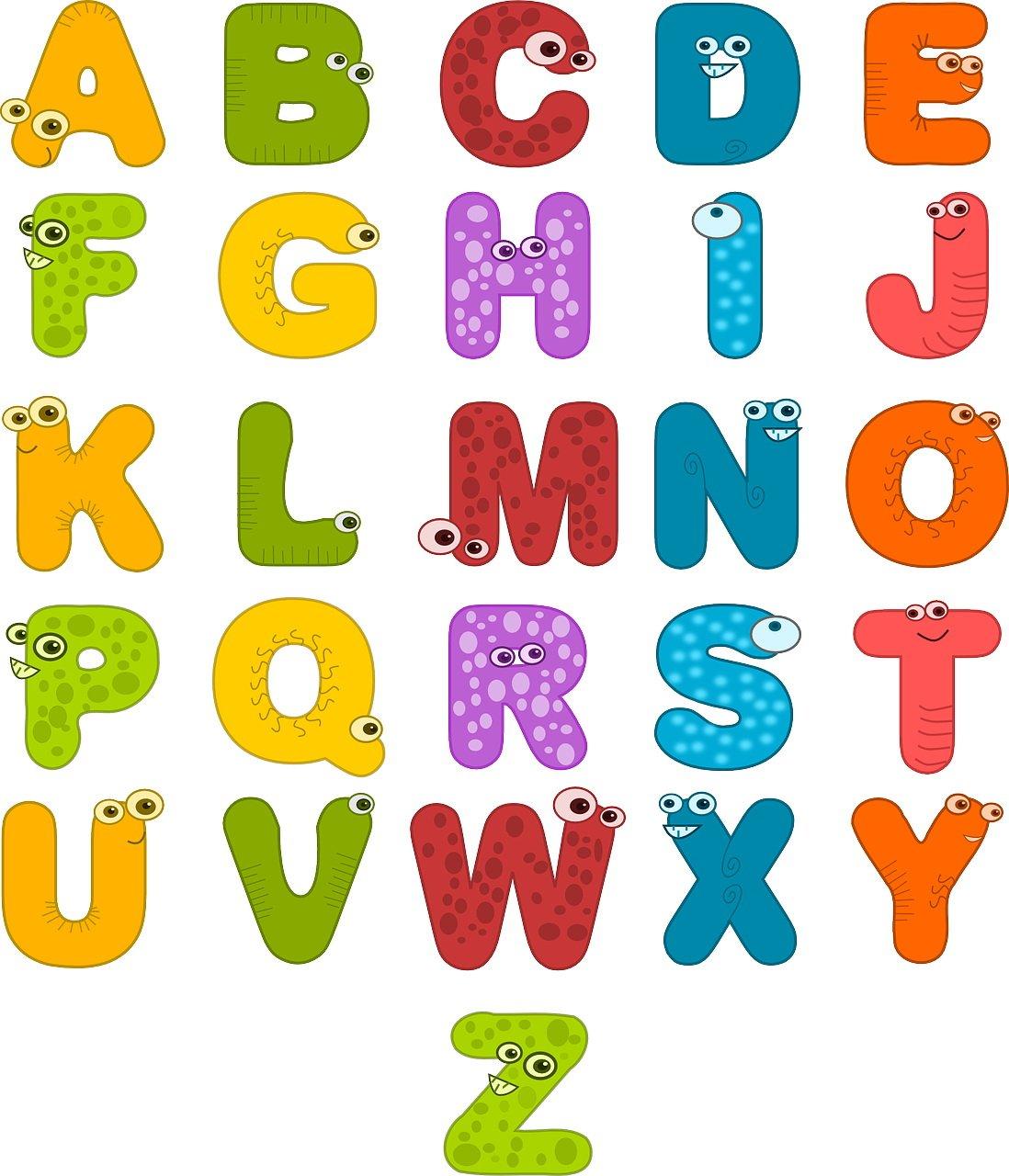 Łamigłówka dla dzieci alfabet