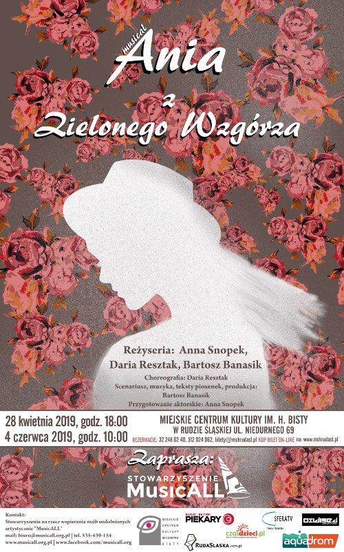 Ania z Zielonego Wzgórza - spektakl. Ruda Śląska