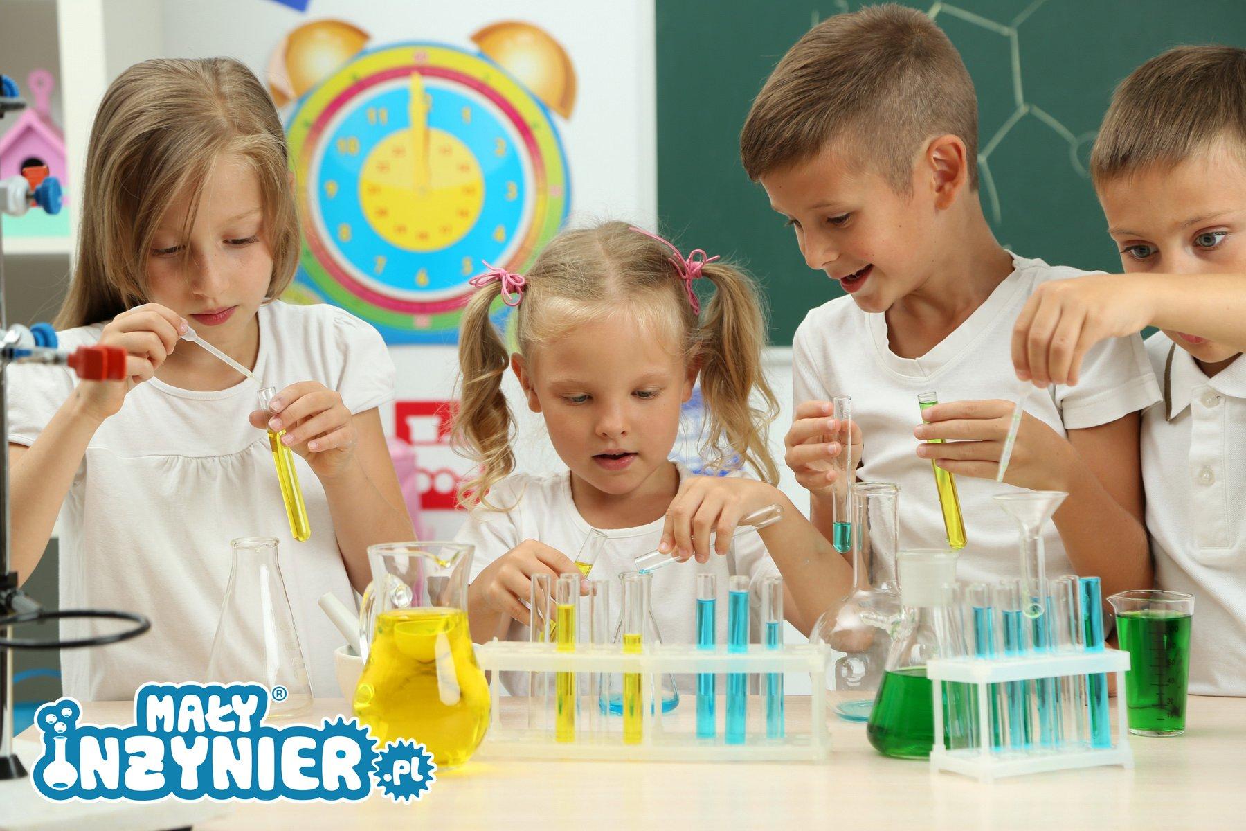dzieci eksperymenty logo