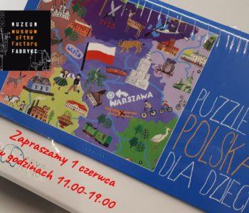 Dzień dziecka w Muzeum Fabryki