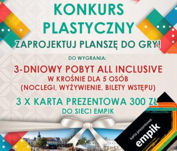 Konkurs plastyczny: projekt gry planszowej