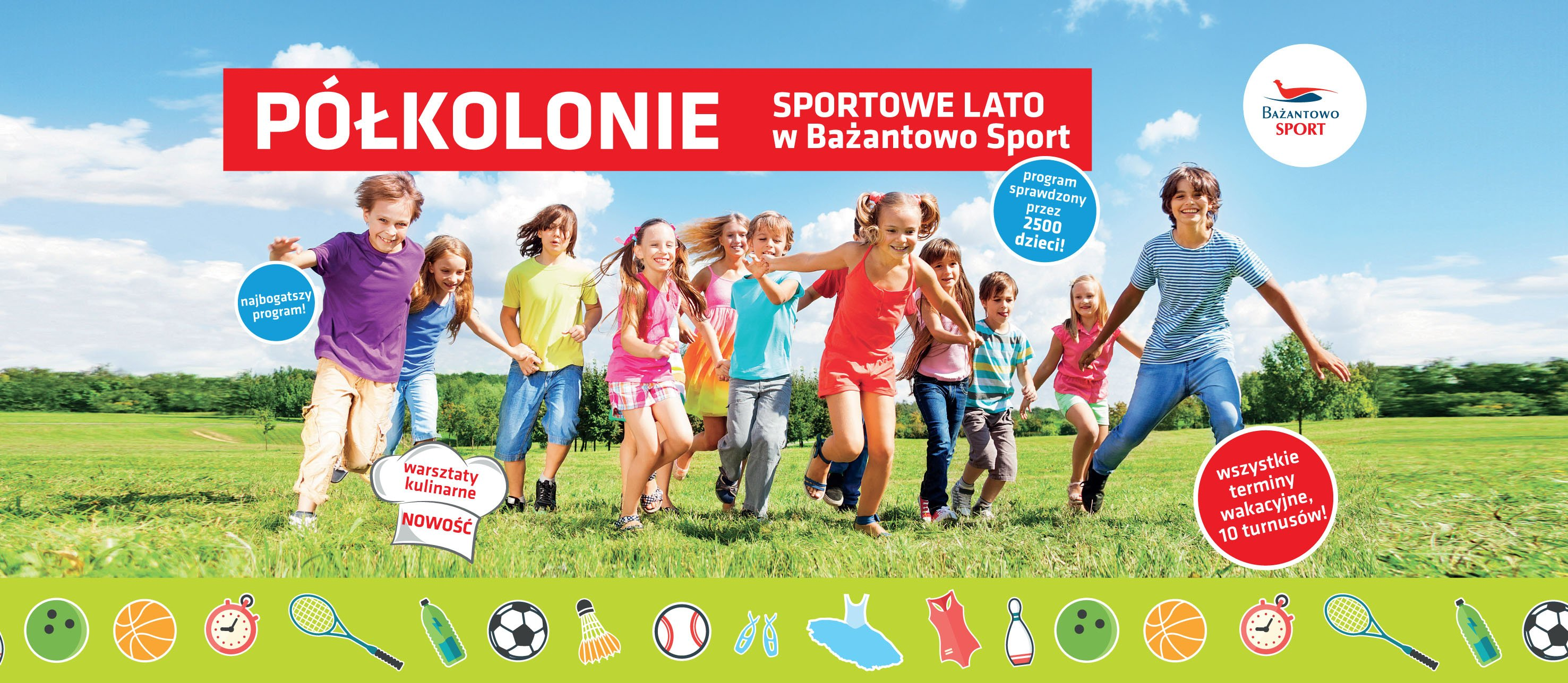 Sportowe półkolonie w Bażantowo Sport Katowice
