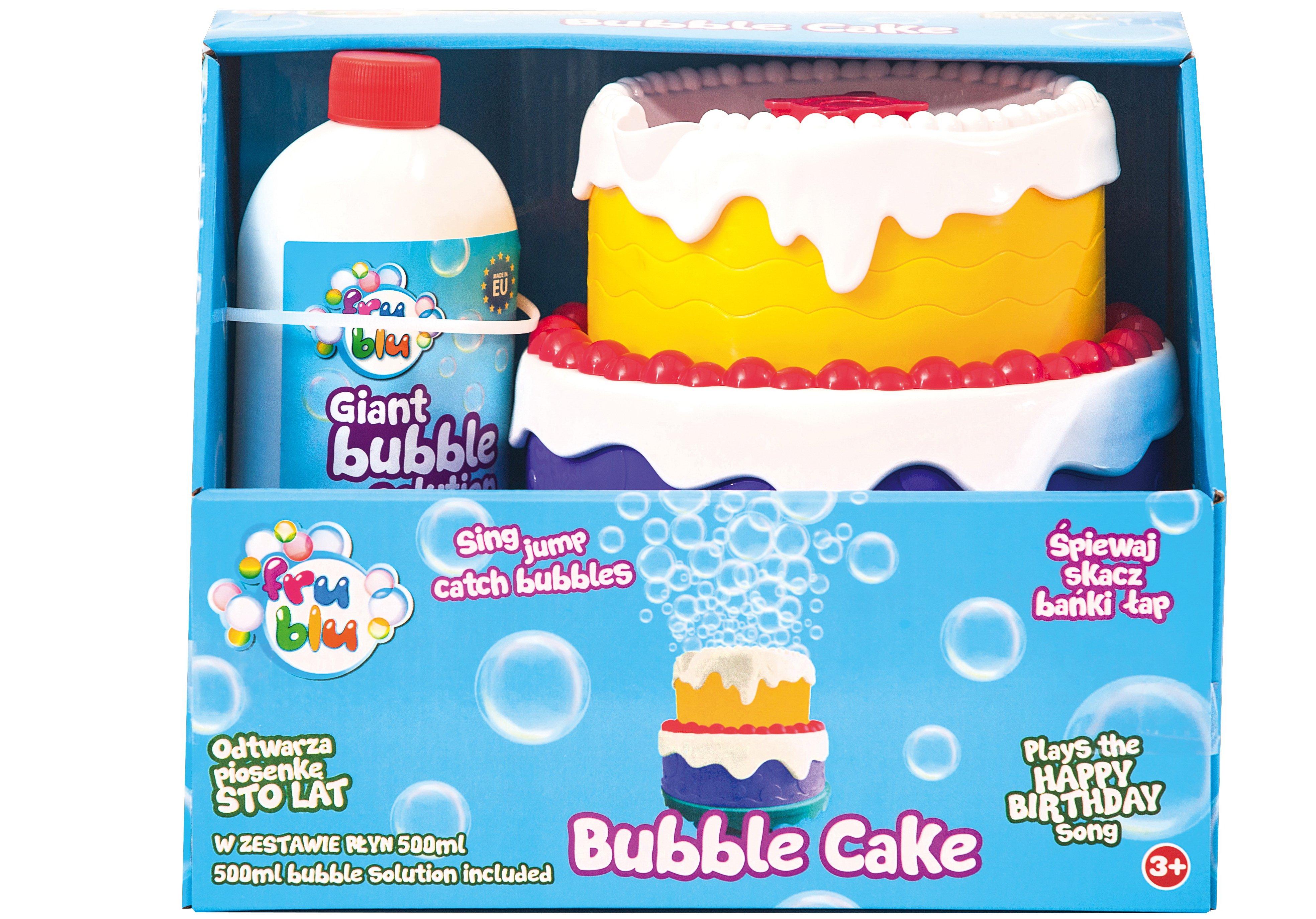 Banki mydlane tort urodzinowy