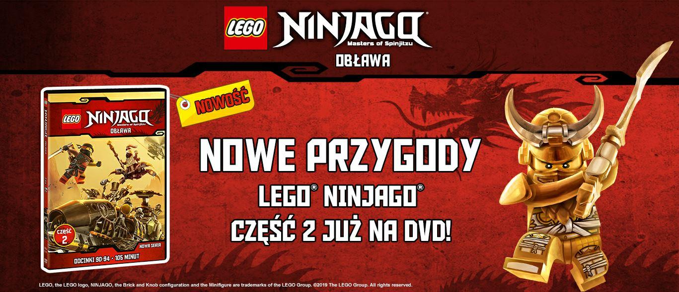 LEGO® NINJAGO® Obława już na DVD