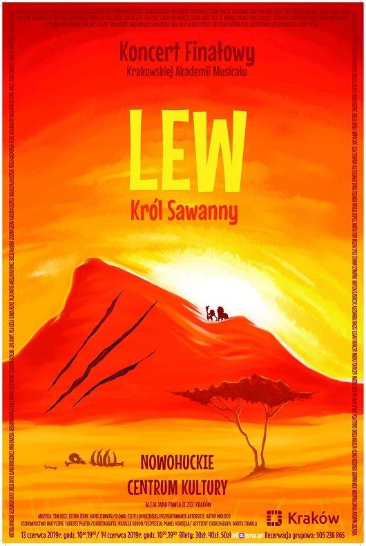 Lew - Król Sawanny