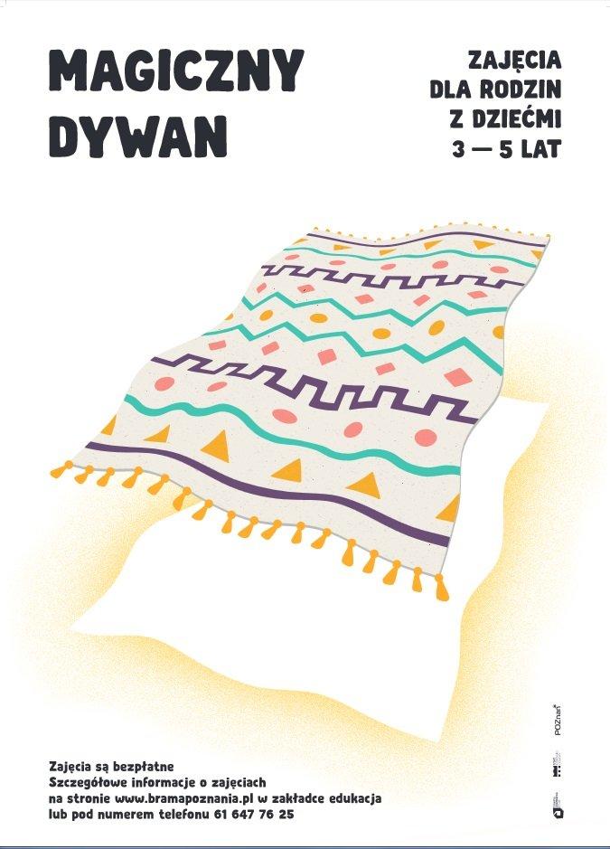 Magiczny Dywan – zajęcia dla rodzin z dziećmi 3-5 lat: Pamiątki i skarby