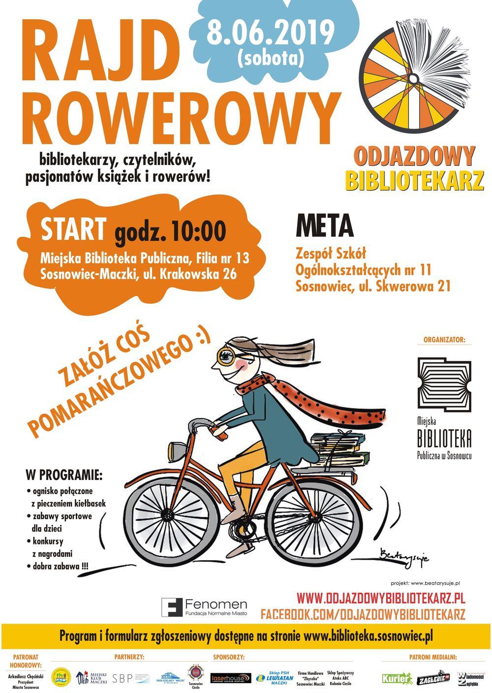 Odjazdowy Bibliotekarz w sosnowieckiej Książnicy - trwają zapisy