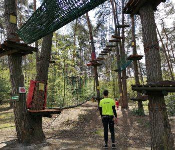 Park Linowy Józefów – nowe trasy