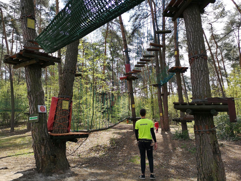 Park Linowy Józefów - nowe trasy
