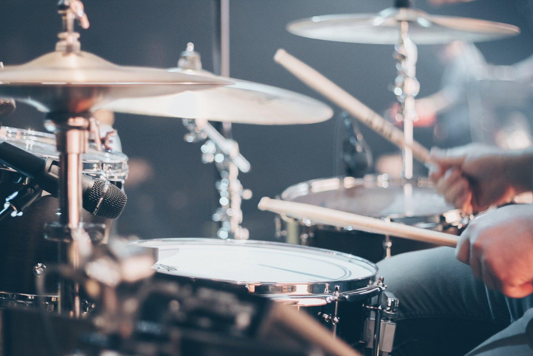 Lekcje perkusji w Kuźni Talentu