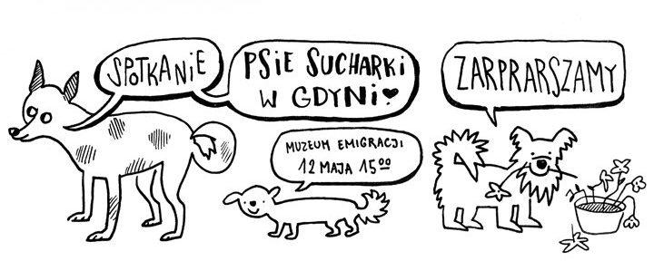 Psie Sucharki. Warsztaty edukacyjno-ilustratorskie dla dzieci 8+
