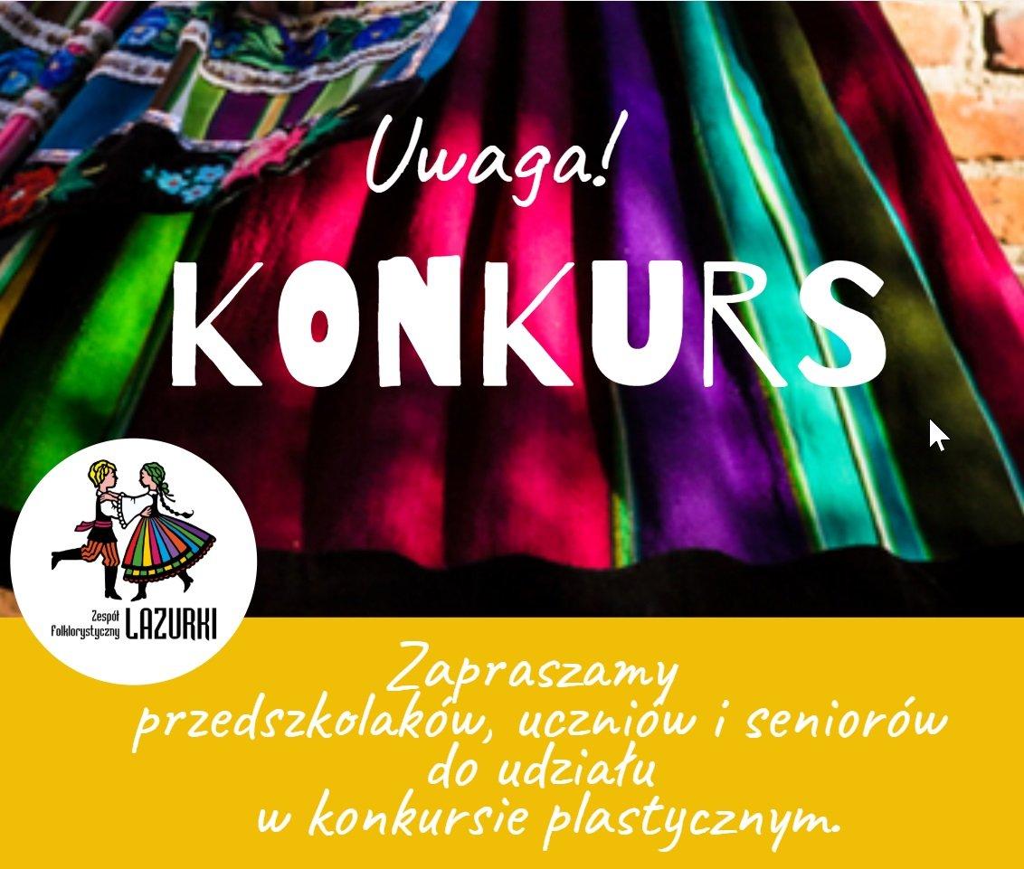 Konkurs plastyczny: Kartka urodzinowa dla ZF LAZURKI