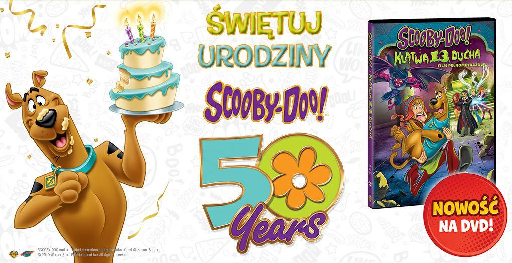 Scooby-Doo! i klątwa 13. ducha już na DVD
