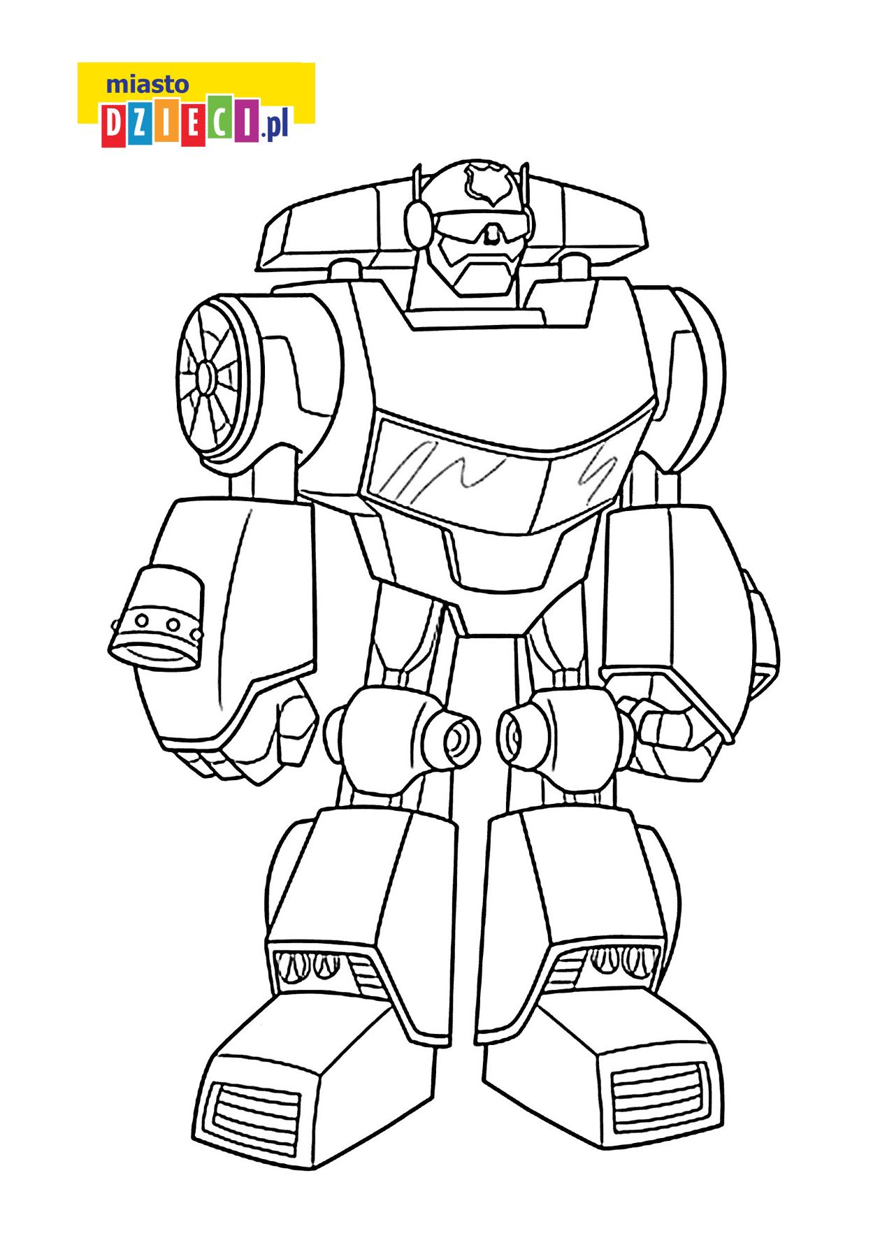 Bezpłatna Kolorowanka Transformers Dla Chłopców Do Druku