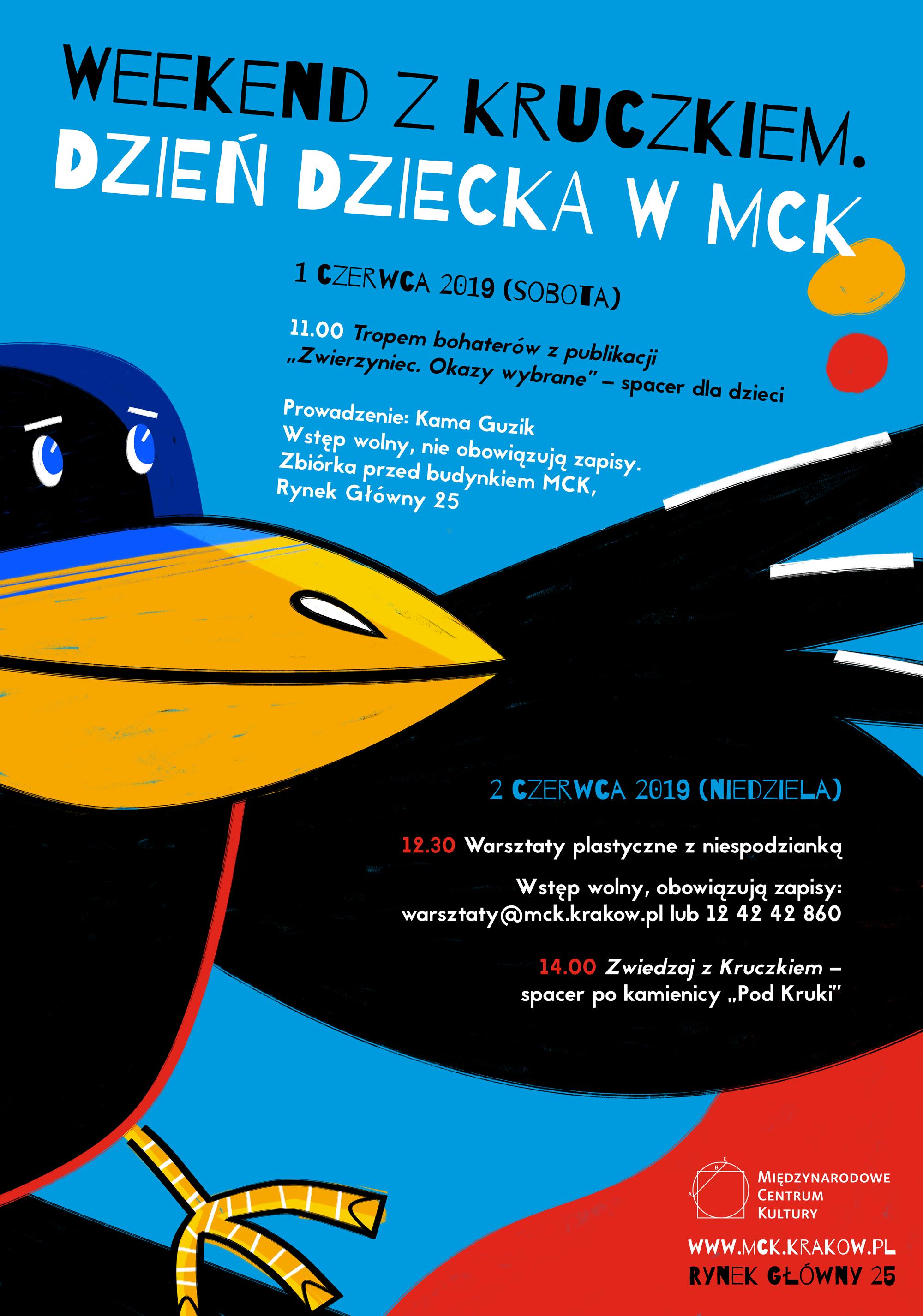 Weekend z Kruczkiem – Dzień Dziecka w MCK