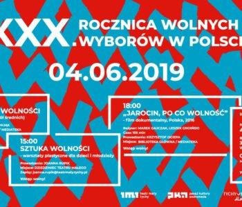 XXX. Rocznica wolnych wyborów w Polsce – Teatr Mały w Tychach