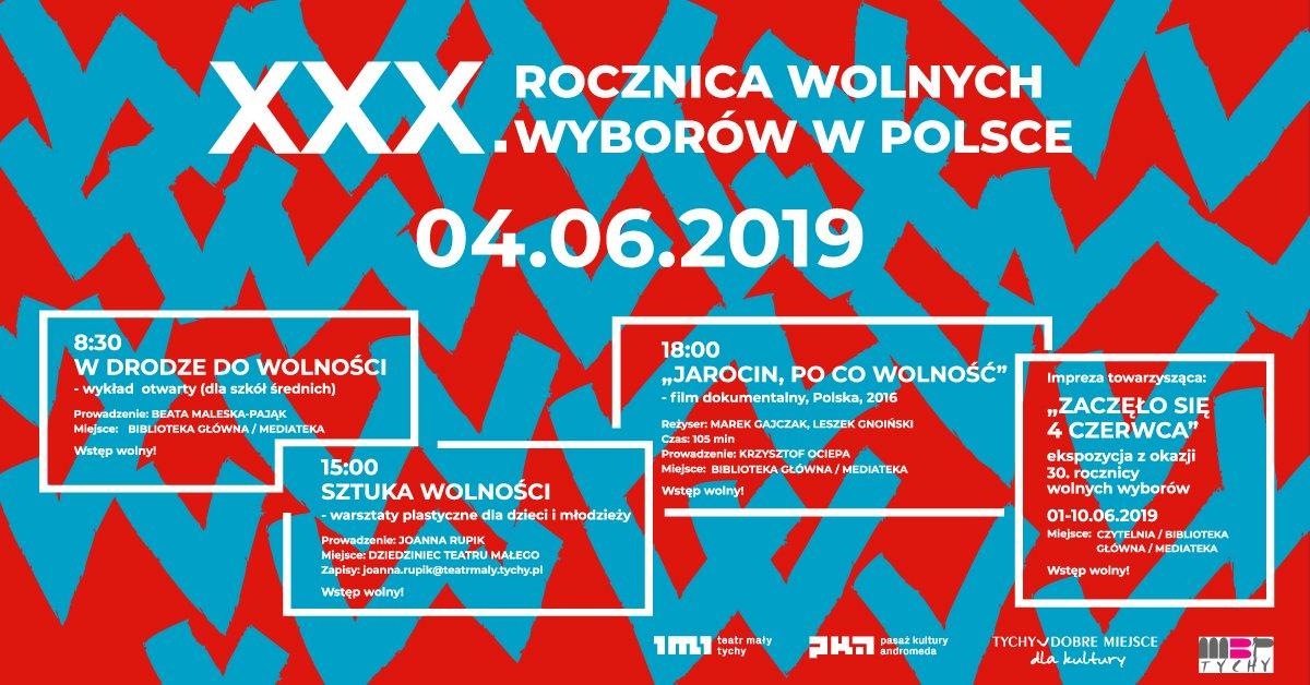 XXX. Rocznica wolnych wyborów w Polsce - Teatr Mały w Tychach