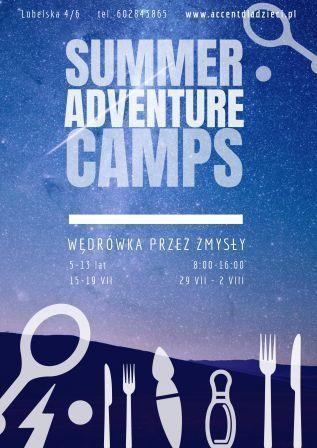 Wędrówka przez zmysły - Summer Adventure Camps