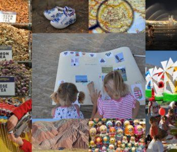 Półkolonie podróżniczo-artystyczne: Z Wiatrakiem przez świat