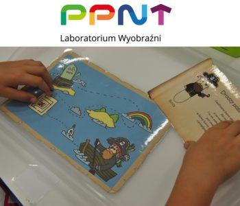 Poszukiwacze skarbów spotykają się w Laboratorium Wyobraźni