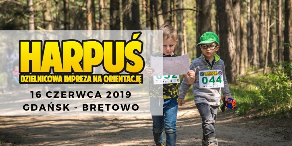 Harpuś - z mapą do Brętowa