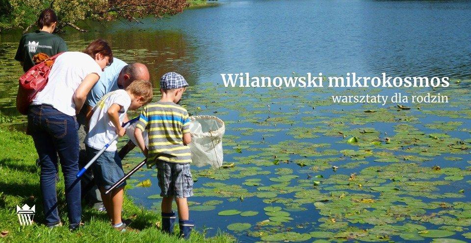 Wilanowski Klub Przyrodniczy - warsztaty dla dzieci
