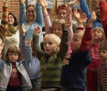 Dzieci na 29 Festiwalu Kultury Żydowskiej