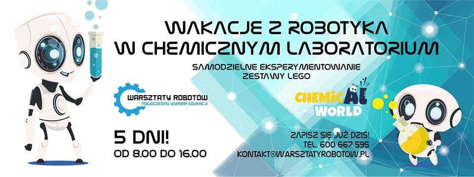 Półkolonie z robotyką i chemią!