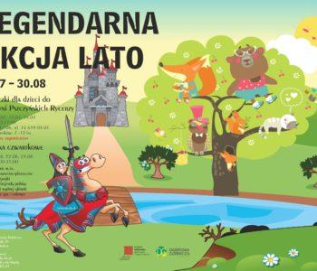 Legendarna Akcja Lato – wakacje w bibliotece. Dąbrowa Górnicza