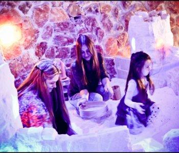 Rodzinna zabawa w Krakowskiej Jaskini Solnej