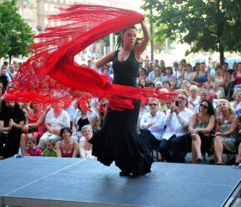 Flamenco namiętnie – spektakl plenerowy